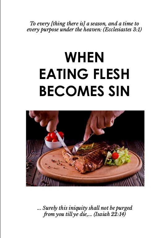 When Eating Flesh Becomes Sin